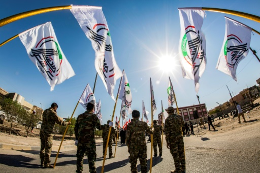 Irak: une force paramilitaire accuse Washington d'être responsable d'attaques contre ses bases