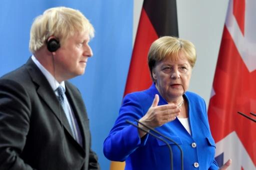 Merkel et Johnson jugent prématuré un retour de la Russie dans le G7