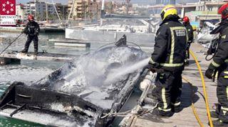 Un bateau à moteur explose en Espagne- 5 touristes belges gravement brûlés 4