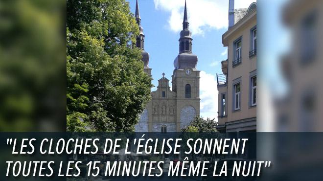 Il emménage à Eupen et ne peut plus dormir de la nuit à cause des cloches de l'église: