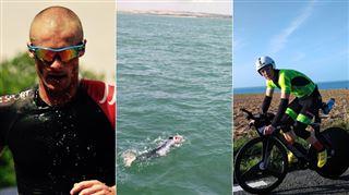 Incroyable EXPLOIT- le Belge Julien Deneyer finit l'Enduroman, un triathlon de l'EXTRÊME reliant Londres à Paris, en un temps record 5