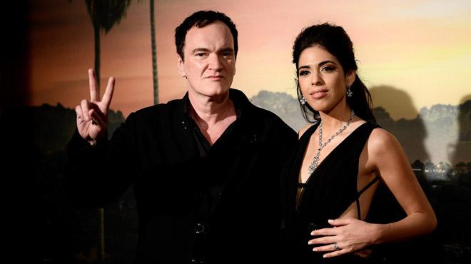 Quentin Tarantino, 56 ans, et bientôt papa pour la première fois!