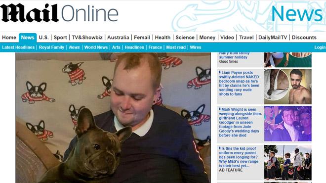 Un chien fidèle à son maître jusque dans la mort: il décède 15 minutes après lui
