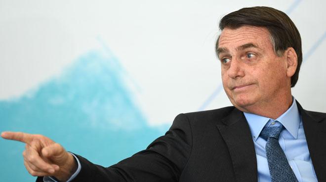 Feux en Amazonie: le président brésilien Bolsonaro dénonce une