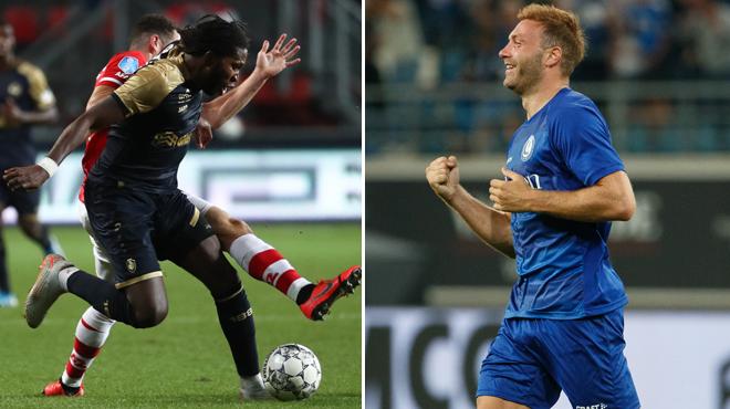 Barrages de l'Europa League: La Gantoise s'impose à domicile, l'Antwerp rattrapé en fin de match