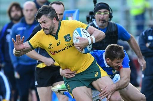 Mondial de rugby: 4e Coupe du monde pour l'Australien Ashley-Cooper, la surprise Petaia