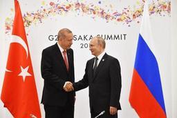 Poutine et Erdogan d'accord pour