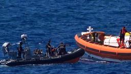 Open Arms: arrivée du navire dépêché à Lampedusa pour chercher des migrants