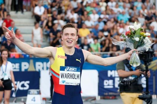 Athlétisme: Warholm brille encore sur 400 m haies