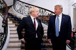 Donald Trump loue Boris Johnson pour le Brexit et promet toujours un accord commercial