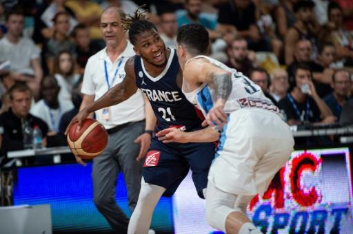 Mondial-2019 de basket: les Bleus montent d'un cran en battant l'Italie