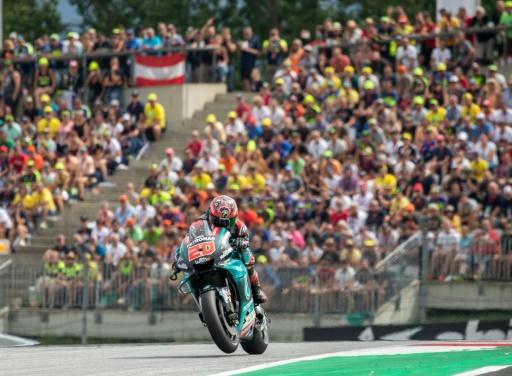 MotoGP: Quartararo chute dès le 1er tour du GP de Grande-Bretagne