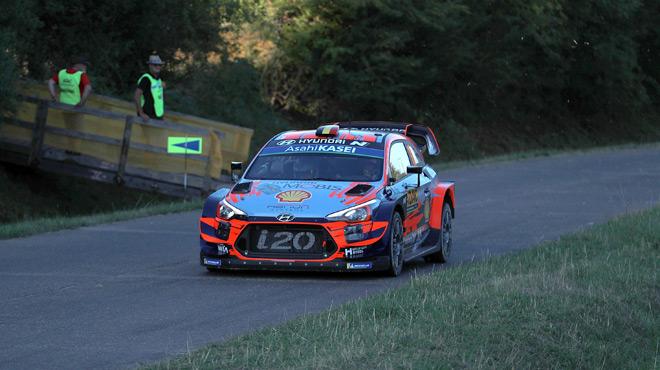 Nouvelle victoire d'Ott Tänak au Rallye d'Allemagne, Thierry Neuville cinquième