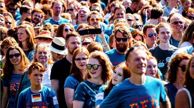 Des milliers de roux se rassemblent aux Pays-Bas à l'occasion des