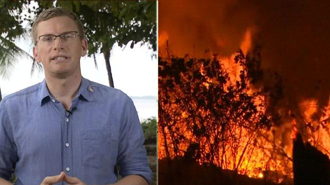 De gigantesques incendies continuent de ravager l'Amazonie: le gouvernement déploie de nouveaux moyens