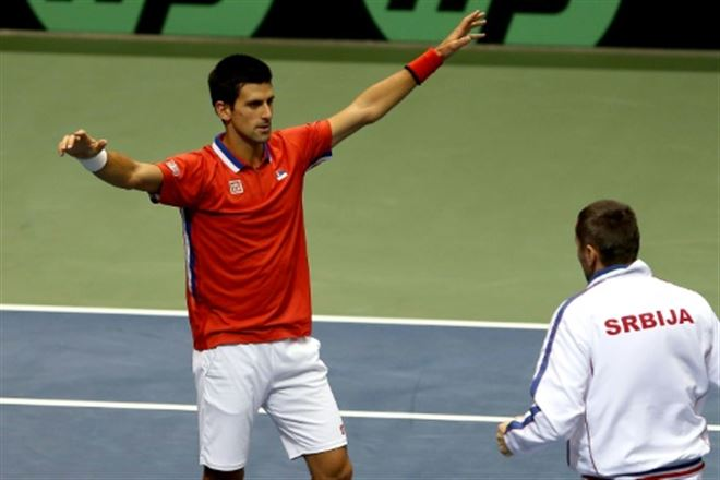 Coupe Davis- Djokovic sera aligné pour la Serbie