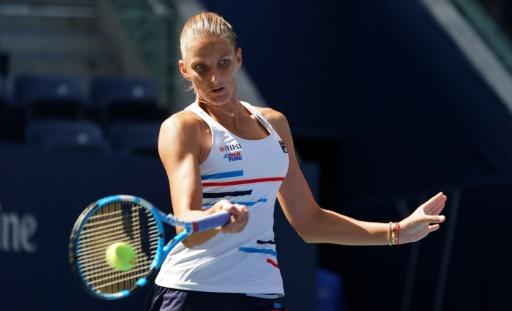US Open: Karolina Pliskova s'en sort difficilement