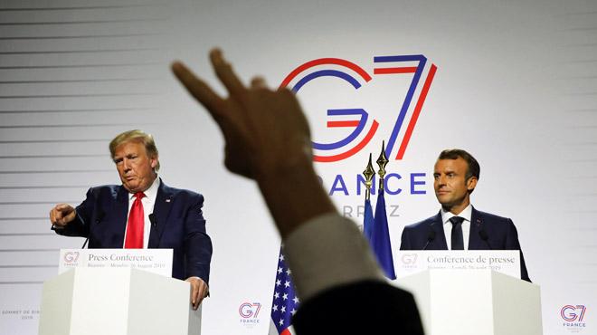 Surprises, changement de programme et invité secret: voici les sept moments clés du G7