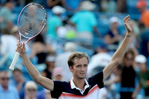 US Open: Medvedev facilement qualifié pour le 2e tour