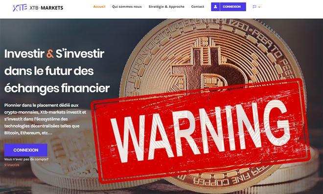 Des Belges se sont fait arnaquer par un site d'investissement dans des cryptomonnaies- méfiez-vous