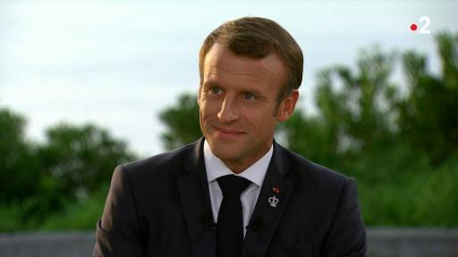 4,5 millions de téléspectateurs pour l'interview de Macron sur France 2