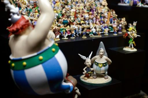 Astérix s'expose à la Bibliothèque nationale de France