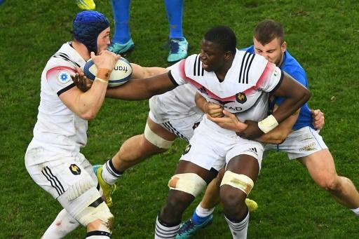 XV de France: troisième ligne Camara-Picamoles-Lauret contre l'Italie