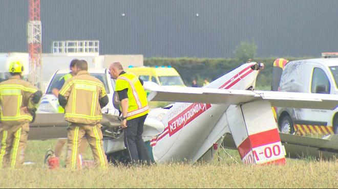 A 34 ans, un pilote perd la vie à Wevelgem: seul à bord d'un petit avion, il aurait fait une fausse manoeuvre