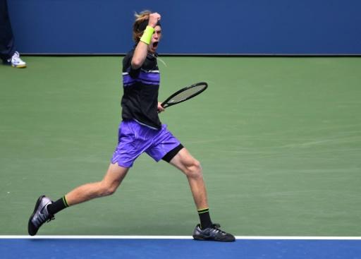 US Open: Rublev élimine Tsitsipas au bout de l'effort