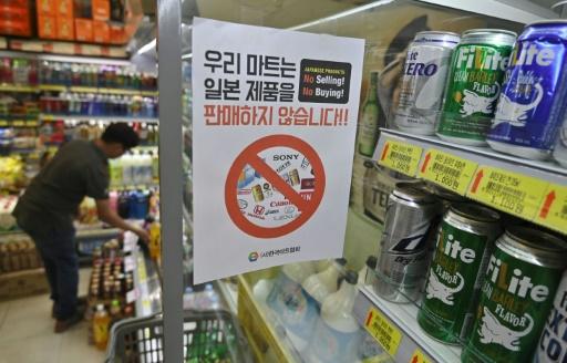 La Corée du Sud fustige le Japon alors que débutent les sanctions commerciales nippones