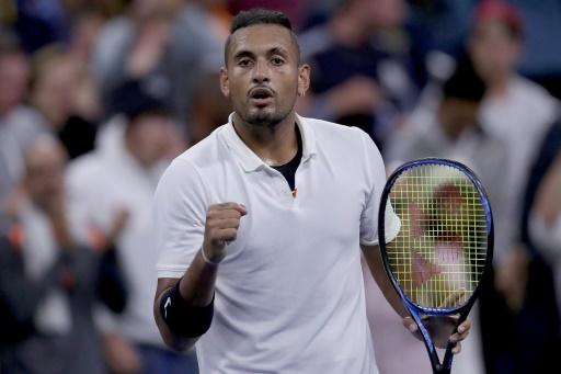 Tennis: Kyrgios adoucit ses critiques sur l'ATP mais reste sous enquête