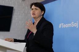 Démission de la cheffe des conservateurs écossais après la suspension du Parlement