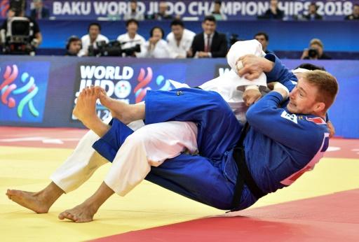 Mondiaux de judo: Axel Clerget en bronze en -90 kg
