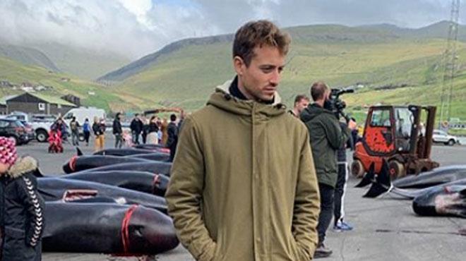 Le journaliste Hugo Clément a assisté au massacre d'une centaine de dauphins: