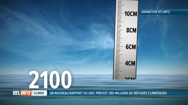 Des projections inquiétantes: 280 millions de personnes devraient déménager dans moins de 100 ans en raison de la montée des eaux
