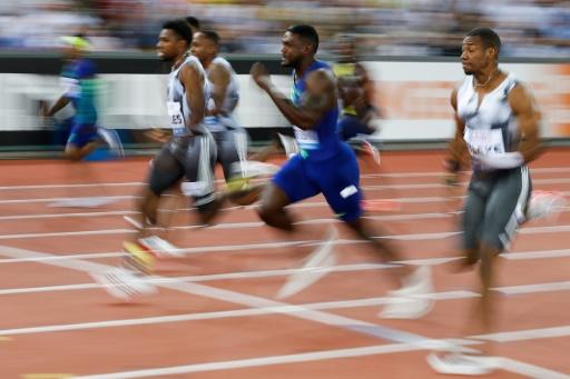 Athlétisme: Lyles s'impose sur 100m à Zurich loin devant Gatlin, 4e