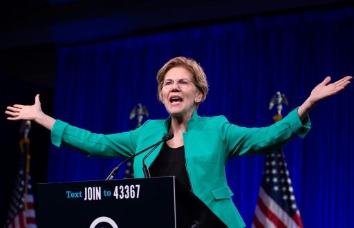 Maison Blanche: Elizabeth Warren a le vent en poupe à l'approche du débat démocrate
