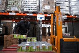 Les Banques alimentaires s'inquiètent face à un record du nombre de bénéficiaires