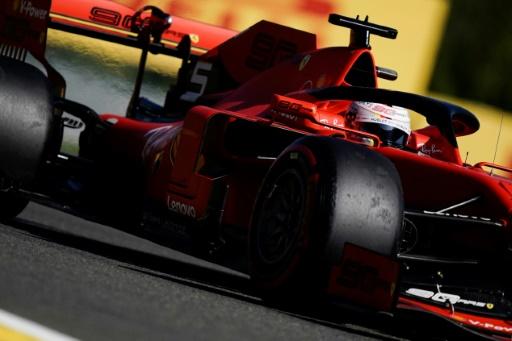 GP F1 de Belgique: les Ferrari devant lors de la 1re séance d'essais