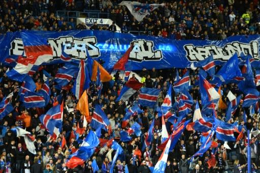 Ligue Europa: les Glasgow Rangers à nouveau sanctionnés pour des chants