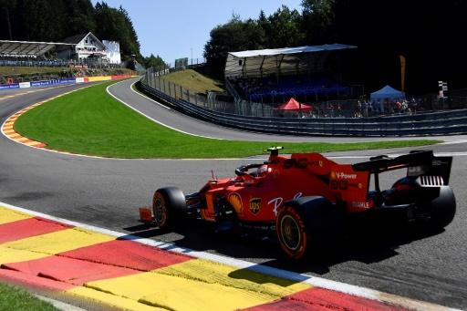 F1: les Ferrari dominent les essais libres de vendredi au GP de Belgique