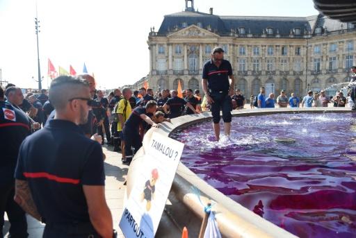 Gironde: les pompiers dénoncent