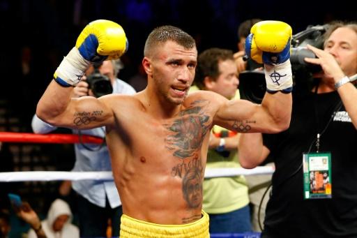 Boxe: Lomachenko veut poursuivre sa moisson