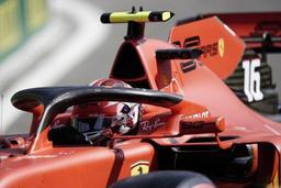 Première ligne 100% Ferrari au GP de Belgique