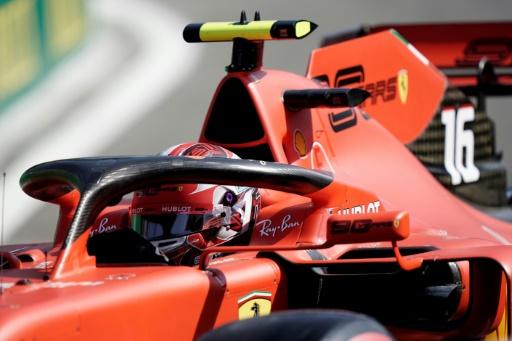 F1: Charles Leclerc partira en pole au GP de Belgique