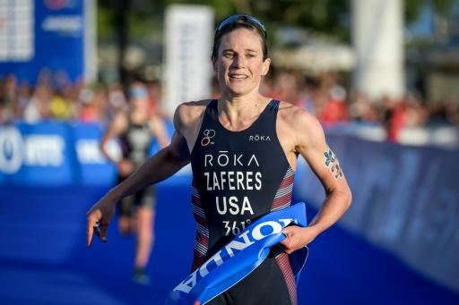 Triathlon: l'Américaine Katie Zaferes remporte le titre mondial après sa victoire à Lausanne