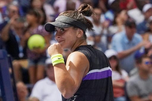 US Open: la sensation canadienne Andreescu en 8es pour la 1re fois