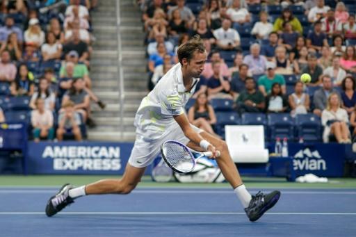 US Open: 9.000 dollars d'amende pour Medvedev après son coup de sang