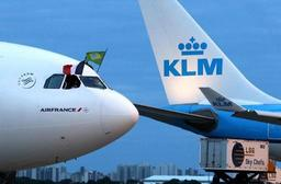Dix vols KLM supprimés lundi en raison d'une grève