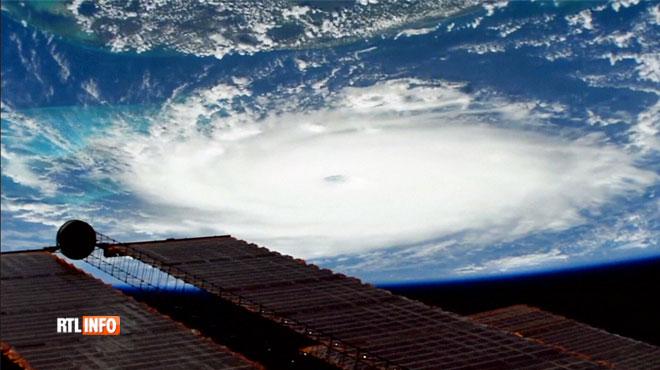Des images à couper le souffle: la station spatiale internationale filme l'ouragan Dorian depuis l'espace